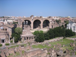 IMG 0551 300x225 Roman Forum: Rubble was once the Center of the Civilized World