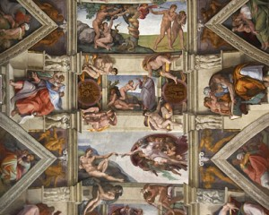 italy sistine chapel 300x240 The Sistine Chapel:  A feast for the eyes