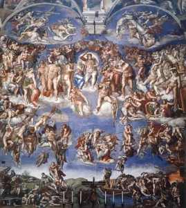 last judgment wga 350 269x300 The Sistine Chapel:  A feast for the eyes